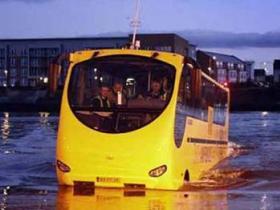 გლაზგოში წყლის ავტობუსებს ცდიან